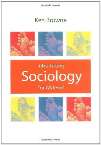 9780745627885: Introducing Sociology: For As Level