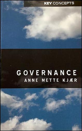 9780745629797: Governance
