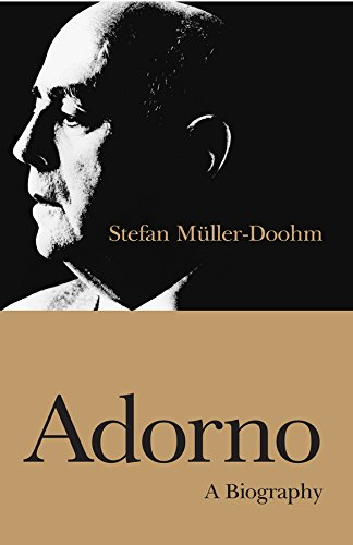 9780745631080: Adorno: A Biography: An Intellectual Biography