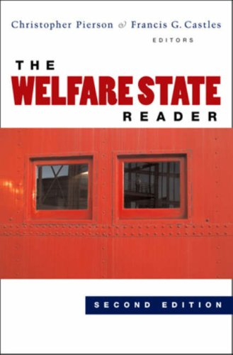 9780745635552: The Welfare State Reader