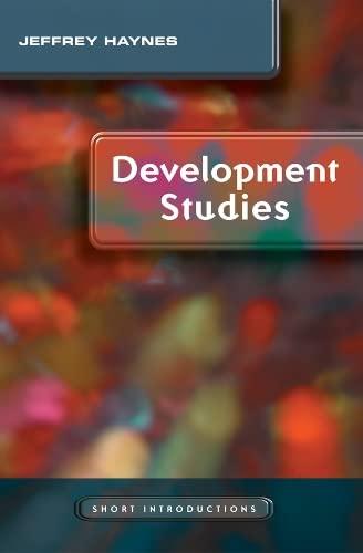 Development Studies: Haynes, Jeffrey