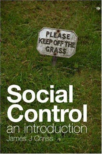 9780745638577: Social Control: An Introduction