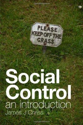 9780745638584: Social Control: An Introduction
