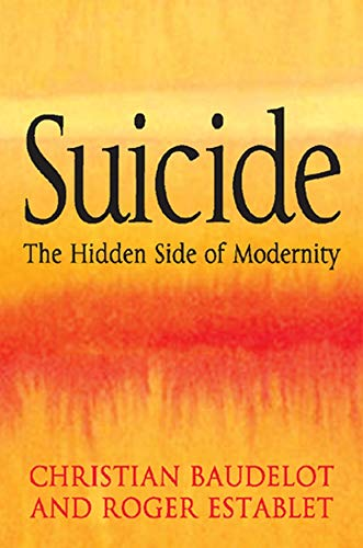9780745640563: Suicide: The Hidden Side of Modernity