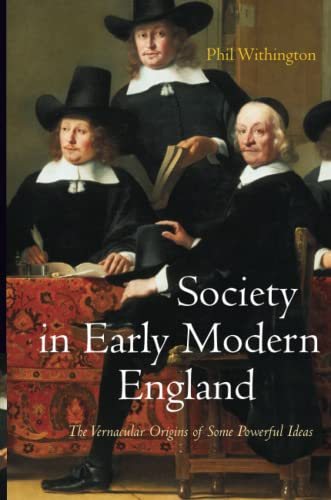 9780745641300: Society in Early Modern England