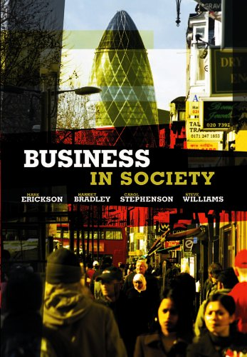 9780745642321: Business in Society: People, Work and Organizations