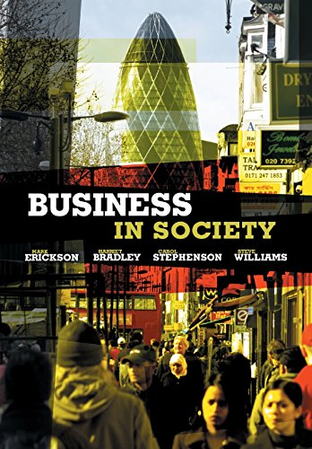 9780745642338: Business in Society: People, Work and Organizations