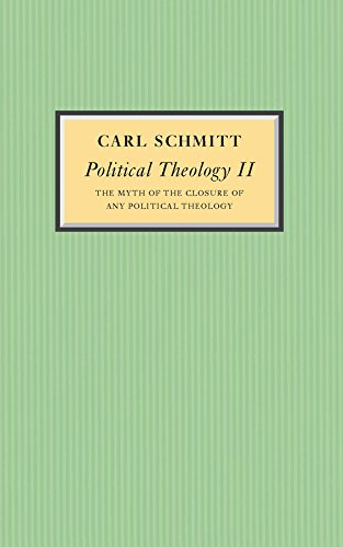 9780745642536: Political Theology II: The Myth of the Closure of any Political Theology