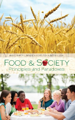 9780745642819: Food and Society: Principles and Paradoxes