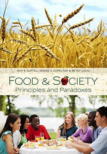 9780745642826: Food and Society: Principles and Paradoxes