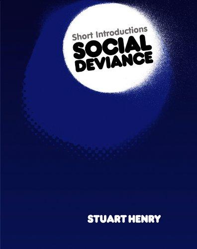 9780745643045: Social Deviance