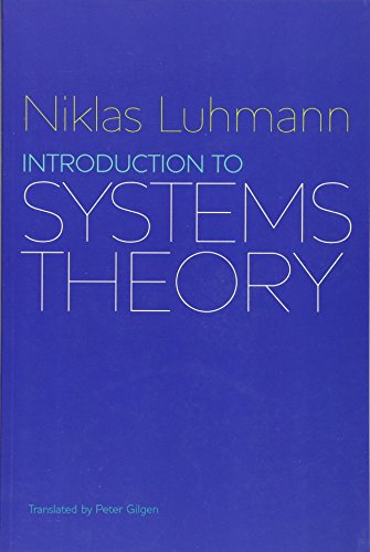 9780745645728: Introduction to Systems Theory