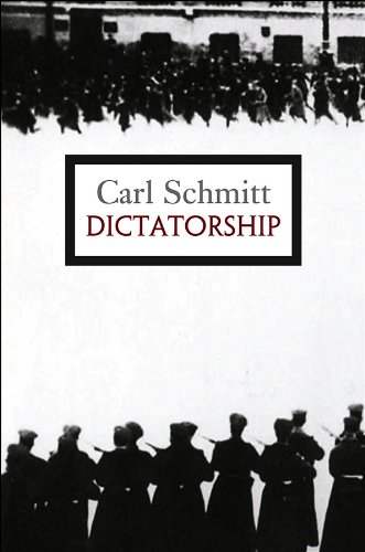 9780745646480: Dictatorship: From the Origin of the Modern Concept of Sovereignty to Proletarian Class Struggle