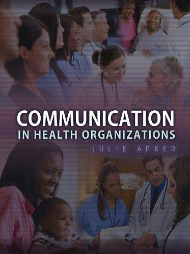 9780745647555: Communication in Health Organizations