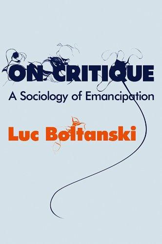 9780745649634: On Critique: A Sociology of Emancipation (English)
