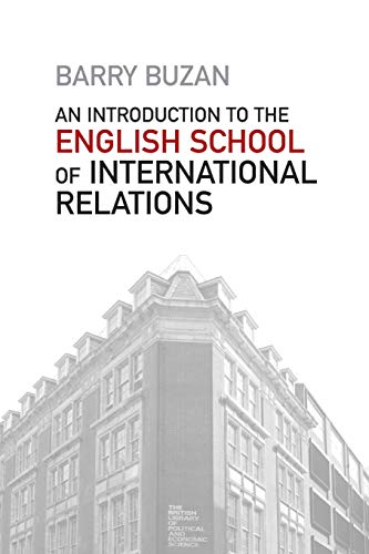 9780745653150: An Introduction to the English School of International Relations: The Societal Approach