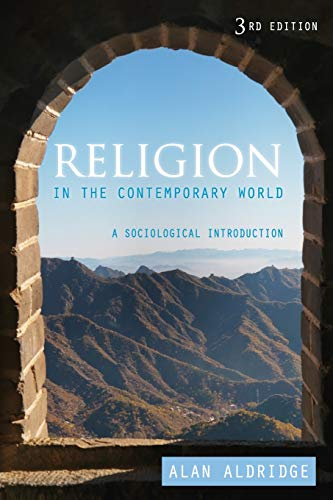 Religion in the Contemporary World: A Sociological Introduction (9780745653471) by Aldridge, Alan