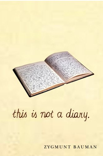 9780745655697: This is not a Diary