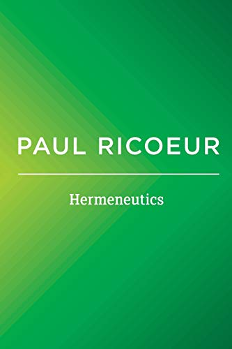 9780745661223: Hermeneutics: Writings and Lectures