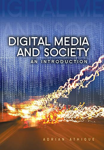 9780745662299: Digital Media and Society: An Introduction