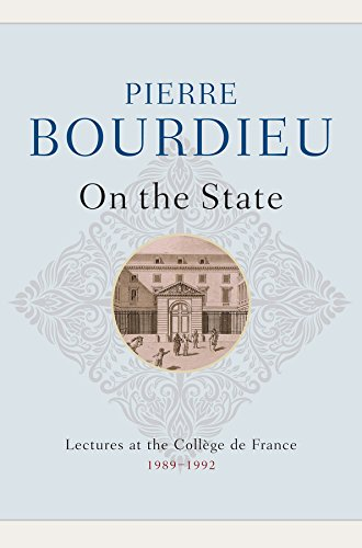9780745663296: On the State: Lectures at the College de France, 1989 - 1992