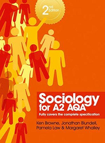 9780745664125: Sociology for A2 AQA