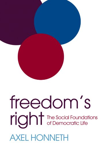 9780745669427: Freedom's Right: The Social Foundations of Democratic Life