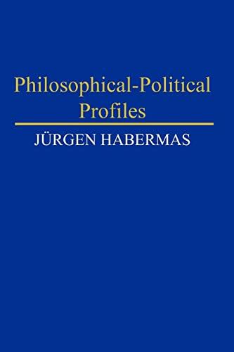 9780745669878: Philosophical-Political Profiles