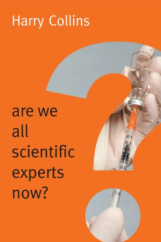 9780745682037: Are We All Scientific Experts Now? (New Human Frontiers)
