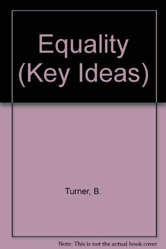9780745800400: Equality (Key Ideas)