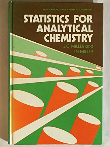 9780745802718: Statistics for Analytical Chemistry (Ellis Horwood series in analytical chemistry)