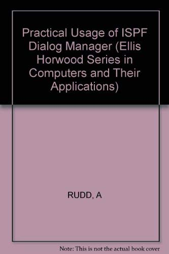 9780745807690: Rudd: Practical Usage of Ispf Dialog Manager