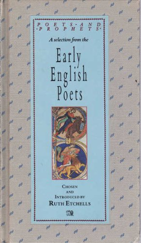 9780745913872: Early English Poets (Poets and Prophets)