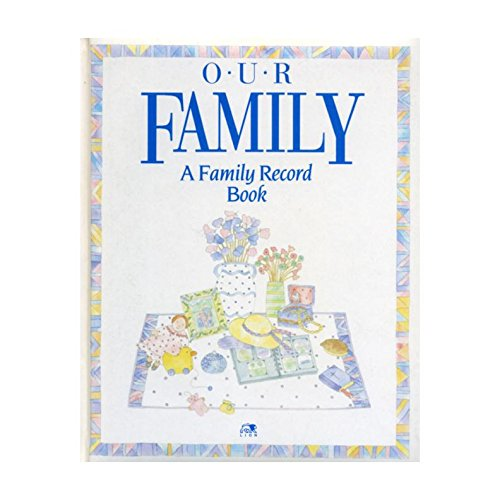 9780745915357: Our Family: A Family Record Book