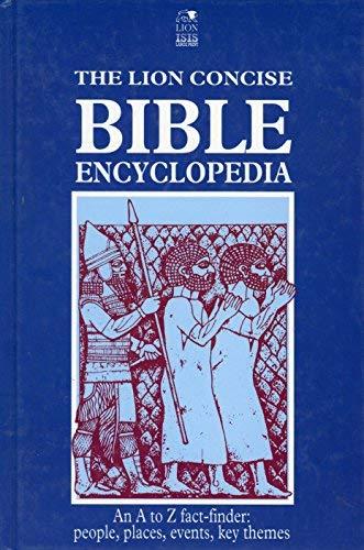 9780745920375: Lion Concise Bible Encyclopedia (Lion concise editions)