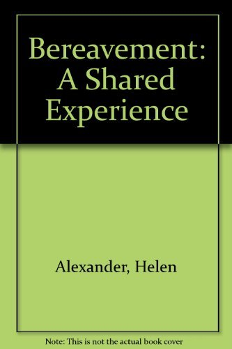 9780745924847: Bereavement: A Shared Experience