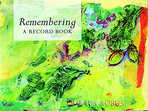 9780745933641: Remembering: A Record Book