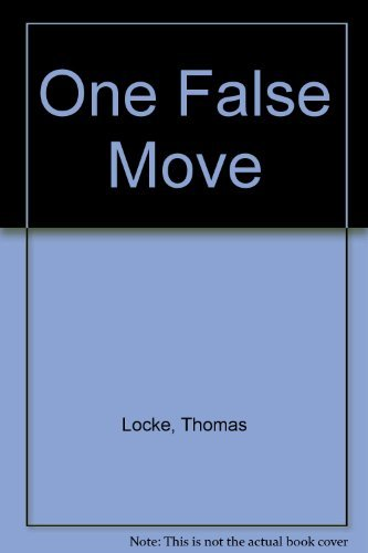 9780745937700: One False Move