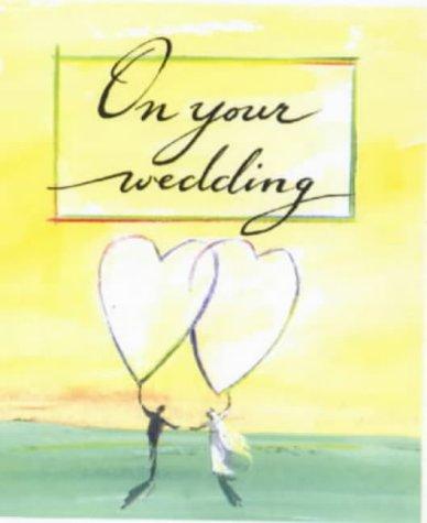 9780745942261: On Your Wedding (Wedding Minibooks)