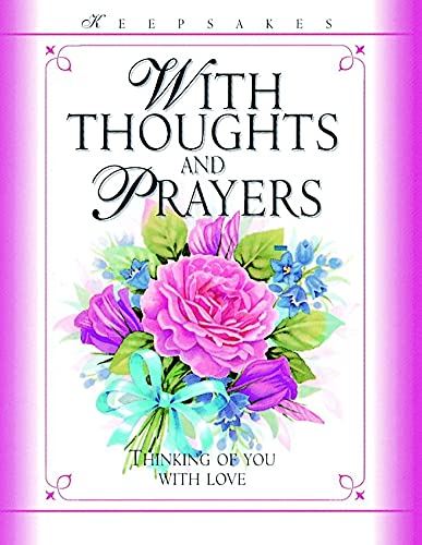 9780745944395: With Thoughts and Prayers: Thinking of You with Love (Keepsakes)