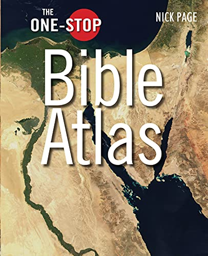 9780745953526: The One-Stop Bible Atlas (One-Stop series)
