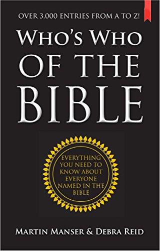 9780745955186: Who's Who of the Bible: Everything You Need to Know About Everyone Named in the Bible