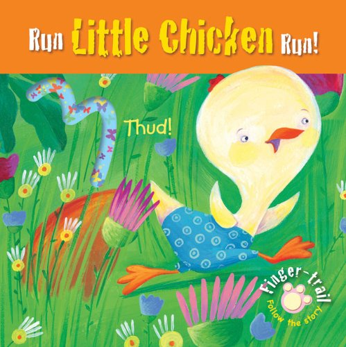 9780745961736: Run Little Chicken Run!: Finger-trail Animal Tales (Finger-Trail Tales)