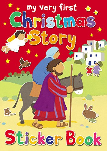9780745962139: My Very First Christmas Story Sticker Book