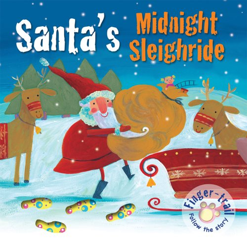 9780745962429: Santa's Midnight Sleighride (Finger-trail Animal Tales)