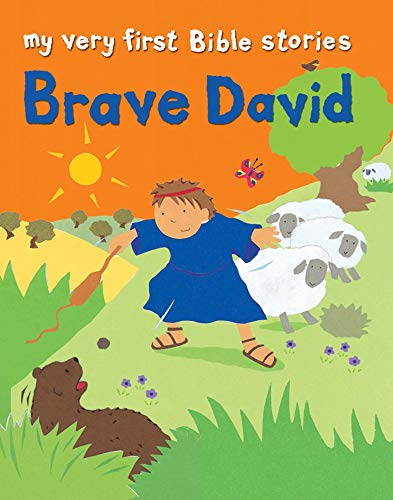 9780745963075: Brave David (My Very First Bible Stories)