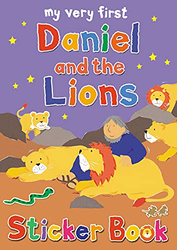 9780745963907: My Very First Daniel and the Lions Sticker Book