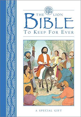 9780745976358: The Lion Bible To Keep For Ever (Blue)