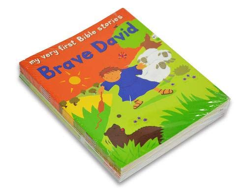 9780745977768: Brave David (My Very First Bible Stories)