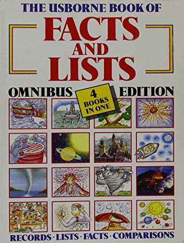 9780746000267: Usborne Book of Facts and Lists (Facts & Lists)